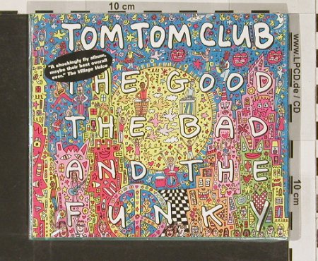 Tom Tom Club: The Good The Bad And The Funky, Ryko(), FS-New, 2000 - CD - 90981 - 9,00 Euro