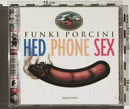 Funki Porcini: Hed Phone Sex, Ninja Tune(ZEN CD17B), UK, 1995 - 2CD - 91461 - 12,50 Euro