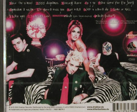 Killer Barbies: Sin Is In, FS-New, Drakkar(041), EU, 2003 - CD - 91559 - 11,50 Euro