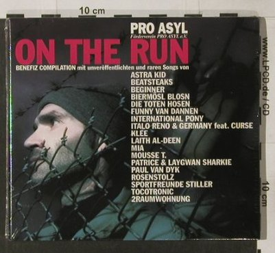 V.A.On the Run: Pro Asyl Benefiz, Digi, FS-New, JKP(57162), D, 2005 - CD - 91727 - 10,00 Euro