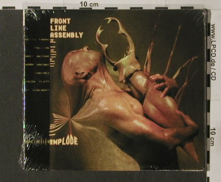 Front Line Assembly: Implode, Digi, FS-New, Zoth Ommog(ZOT 247), D,  - CD - 91765 - 11,50 Euro