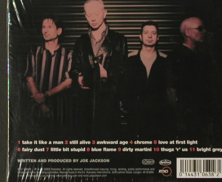 Jackson Band,Joe: Volume 4 ,Limited Ed.Digi, FS-New, Ryko(RCD 10638), , 2003 - CD - 91952 - 6,00 Euro
