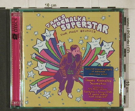 Kochalka Superstar, James: Our Most Beloved, FS-New, Ryko(), US, 2005 - CD/DVD - 92337 - 10,00 Euro