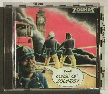 Zounds: The Curse Of Zounds, GAP 014(SEEP006), UK, 1993 - CD - 92400 - 12,50 Euro