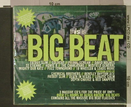 V.A.This Is... Big Beat: Box Set, FS-New, Beechwood(BEBOXcd16), UK, 1997 - 3CD - 92462 - 12,50 Euro