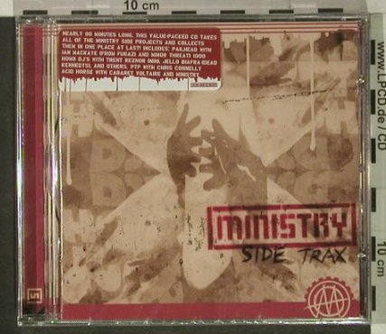 Ministry: Side Trax, FS-New, Ryko(), EU, 2004 - CD - 92495 - 11,50 Euro