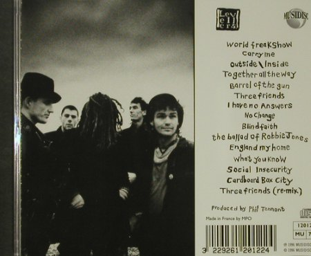 Levellers: A Weapon Called The Word, Musidisc(120 122), F, 1996 - CD - 92579 - 10,00 Euro