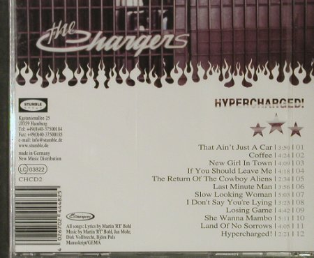 Chargers, The: Hypercharged!, FS-New, Stumble(CHCD 2), D, 2004 - CD - 92834 - 7,50 Euro