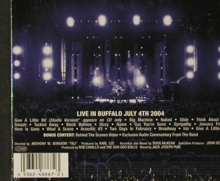 Goo Goo Dolls: Live in Buffalo, Digi, FS-New, Warner Bros.(), EU, 2004 - CD/DVD - 92893 - 11,50 Euro