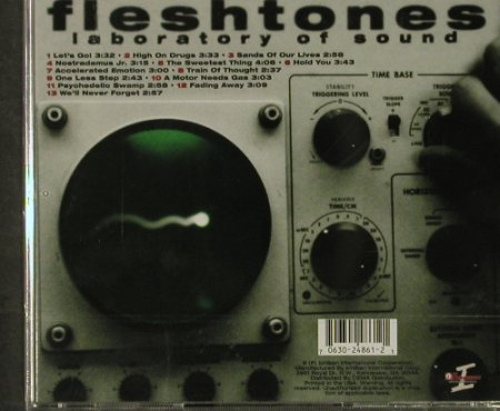Fleshtones: Laboratory Of Sound, FS-New, Ichiban(D2-24861-2), US,  - CD - 92909 - 7,50 Euro