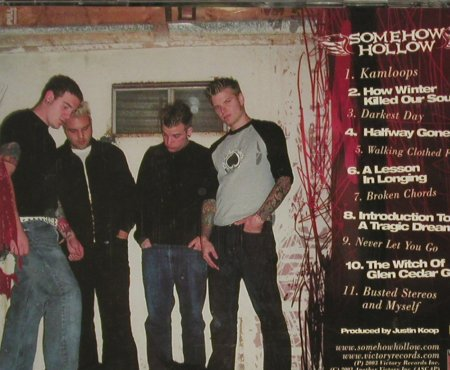 Somehow Hollow: Busted Wings & Rusted Halos, FS-New, Victory(), US, 2003 - CD - 92995 - 7,50 Euro