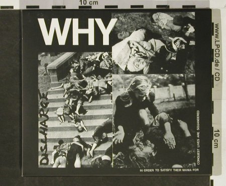 Discharge: Why(80), Sanctuary(), UK, 2003 - CD - 93011 - 10,00 Euro