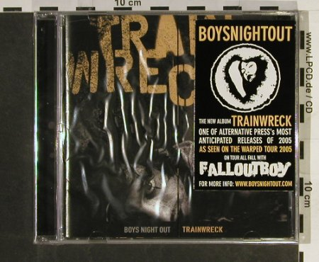Boys Night Out: Trainwreck, FS-New, Ferret Music(F055), US, 2005 - CD - 93230 - 7,50 Euro