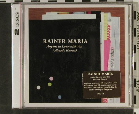 Maria,Rainer: Anyone in Love With You, FS-New, Polyvinyl Rec.(), US, 2004 - CD/DVD - 93265 - 10,00 Euro