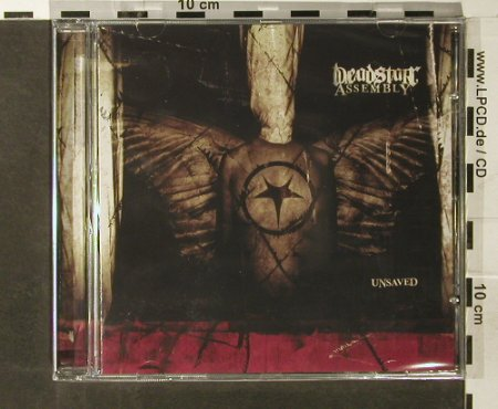 Deadstar Assembly: Unsaved, FS-New, The A Label(AL 0013.2), EU, 2006 - CD - 93702 - 11,50 Euro