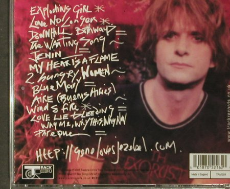 Gene Loves Jezebel: Exploding Girl, FS-New, Track Record(), UK, 2005 - CD - 93891 - 10,00 Euro