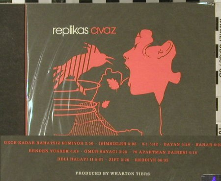 Replikas: Avaz, FS-New, Rh Pozitif Publishing(), , 2005 - CD - 94102 - 11,50 Euro