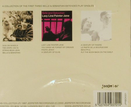 "Belle & Sebastian: Lazy Line Painter Jane, Box, FS-New, Jeepster(), UK, 1997 - CD5""*3 - 94206 - 12,50 Euro"