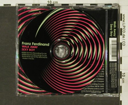 Franz Ferdinand: Walk away/Sexy Boy, Domino(RUG215cd), EU, 2005 - CD5inch - 94234 - 4,00 Euro