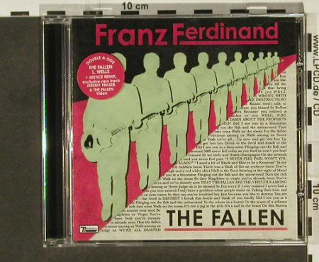 Franz Ferdinand: The Fallen/L.Wells,4Tr.+video, Domino(RUG219cd), EU, 2006 - CD5inch - 94448 - 4,00 Euro