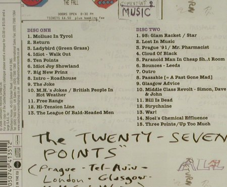 Fall: The Twenty-Seven Points'95, FS-New, Castle(), EU, 2006 - 2CD - 94503 - 11,50 Euro