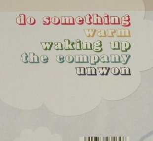 Tent: Do Something +4, FS-New, Records&Me(), , 2006 - CD5inch - 94514 - 5,00 Euro