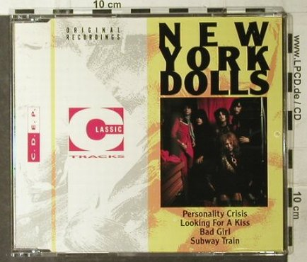 New York Dolls: Personality Crisis+3, Classic Tracks(CDEP14), UK, 1972 - CD5inch - 95174 - 7,50 Euro