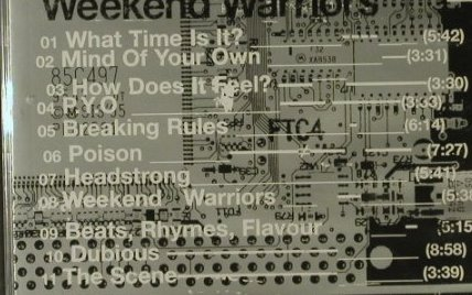Terminalhead: Weekend Warriors, FS-New, Sanctuary(), , 2002 - CD - 95236 - 10,00 Euro