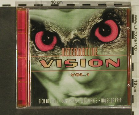 V.A.Alternative Vision Vol.1: 18 Tr, FS-New, WB(), D, 1995 - CD - 95275 - 5,00 Euro