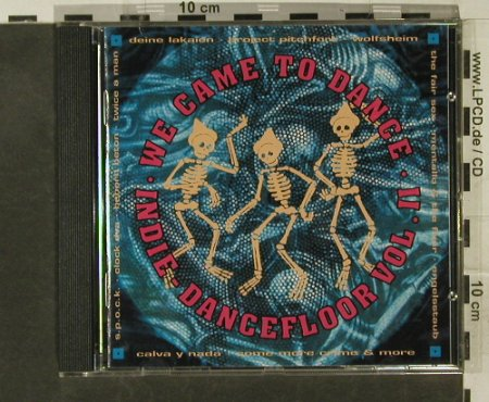 V.A.We Came To Dance Vol.II: 16 Tr., Sub Terrean(084-38822), D, 1993 - CD - 95276 - 5,00 Euro