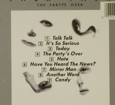 Talk Talk: The Party's Over, EMI(CDP 7 46366 2), UK, 1982 - CD - 95303 - 10,00 Euro