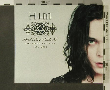 Him: And Love Said No-Greatest Hits,Digi, BMG Finland(), EU, 2004 - CD/DVD - 95608 - 11,50 Euro
