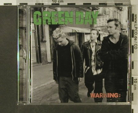 Green Day: Warning:, WEA(), D, 2000 - CD - 95610 - 10,00 Euro