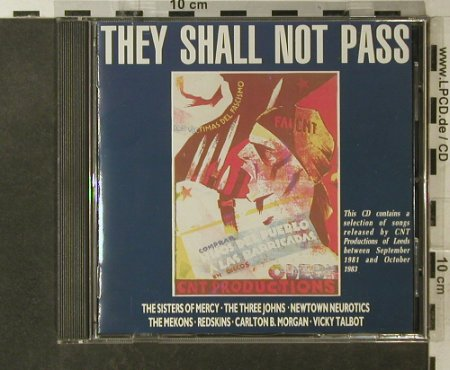 V.A.They Shall Not Pass: 13 Tr., Redskins,Sisters,Mekons.., Abstract(AABT 400CD), F, 1988 - CD - 95755 - 7,50 Euro