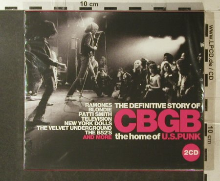 V.A.CBGB Home of U.S. Punk: The Definitive Story of, FS-New, UnionSq.(SALVODcd202), EU, 2006 - 2CD - 95978 - 11,50 Euro