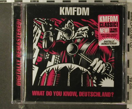 KMFDM: What do you know,Deutschland,FS-New, Metropolis(MET 439), USSA, 2006 - CD - 96128 - 10,00 Euro