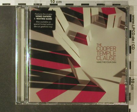 Cooper Temple Clause,The: Make This Your Own, FS-New, Morning(SEQcd001), EU, 2006 - CD - 96167 - 11,50 Euro