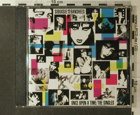 Siouxsie & The Banshees: The Singles-Once Upon A Time, Polydor(831 542-2), EU, 1989 - CD - 96179 - 7,50 Euro