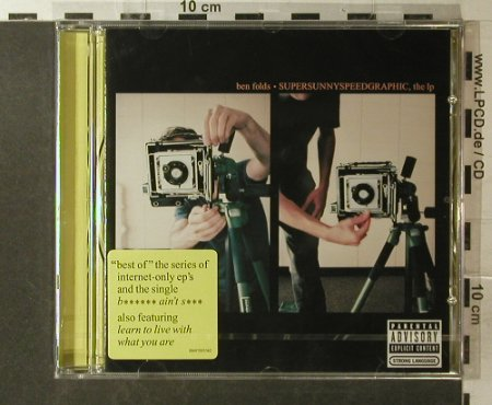 Ben Folds: Supersunnyspeedgraphic,the lp, Epic(), EU FS-New, 2006 - CD - 96183 - 10,00 Euro