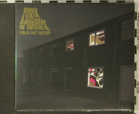 Arctic Monkeys: Favourite Worst Nightmare, FS-New, Domino(WIGcd188), EU,Digi, 2006 - CD5inch - 96336 - 11,50 Euro