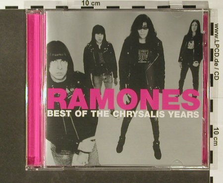 Ramones: Best Of The Chrysalis Years, Chrysalis(5 38472 2), EU, 2002 - CD - 96485 - 7,50 Euro