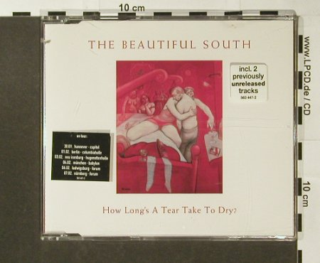 Beautiful South: How Long's A Tear Take To Dry?+3, Mercury(563 447-2), EU, co, 1998 - CD5inch - 96508 - 2,00 Euro