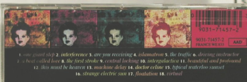 Grid: Electric Head, EW(), D, 1990 - CD - 96587 - 12,50 Euro