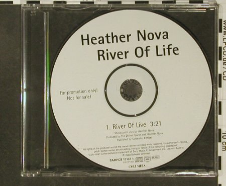 Nova,Heather: River of Life,Promo,1 Tr. NoBooklet, Saltwater(), A, 2003 - CD5inch - 96684 - 4,00 Euro