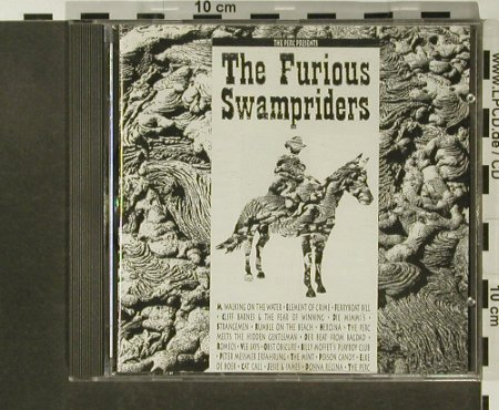 Perc presents: The Furious Swampriders, V.A., Strange Ways Records(WAY 14), D, 1990 - CD - 96738 - 7,50 Euro