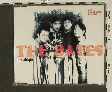 Bates: I'm Alright+4(3xlive), Virgin(), NL, 94 - CD5inch - 97040 - 4,00 Euro