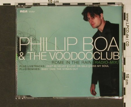 Boa,Phillip & the Voodooclub: Rome in the Rain(7Tr.), RCA(), EU, 00 - CD5inch - 97041 - 3,00 Euro