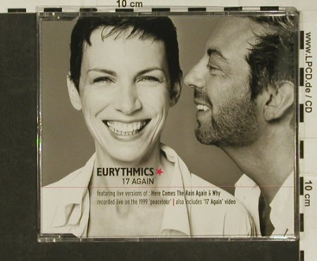Eurythmics: 17 Again+2+video, BMG(), EU, 00 - CD5inch - 97058 - 3,00 Euro