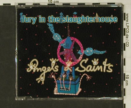 Fury In The Slaughterhouse: Angels & Saints*2+2, EMI(), EU, 2002 - CD5inch - 97061 - 4,00 Euro