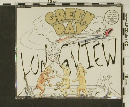 Green Day: Longview+2, Reprise(), D, 94 - CD5inch - 97062 - 3,00 Euro